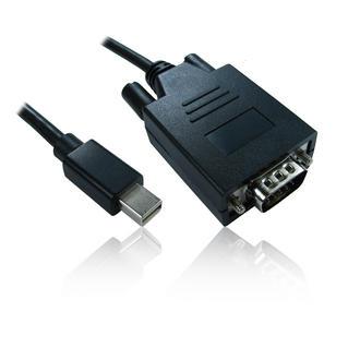 2m 6' Mini DisplayPort Male to SVGA/ VGA Male Adapter Convertor Cable Lead Wire