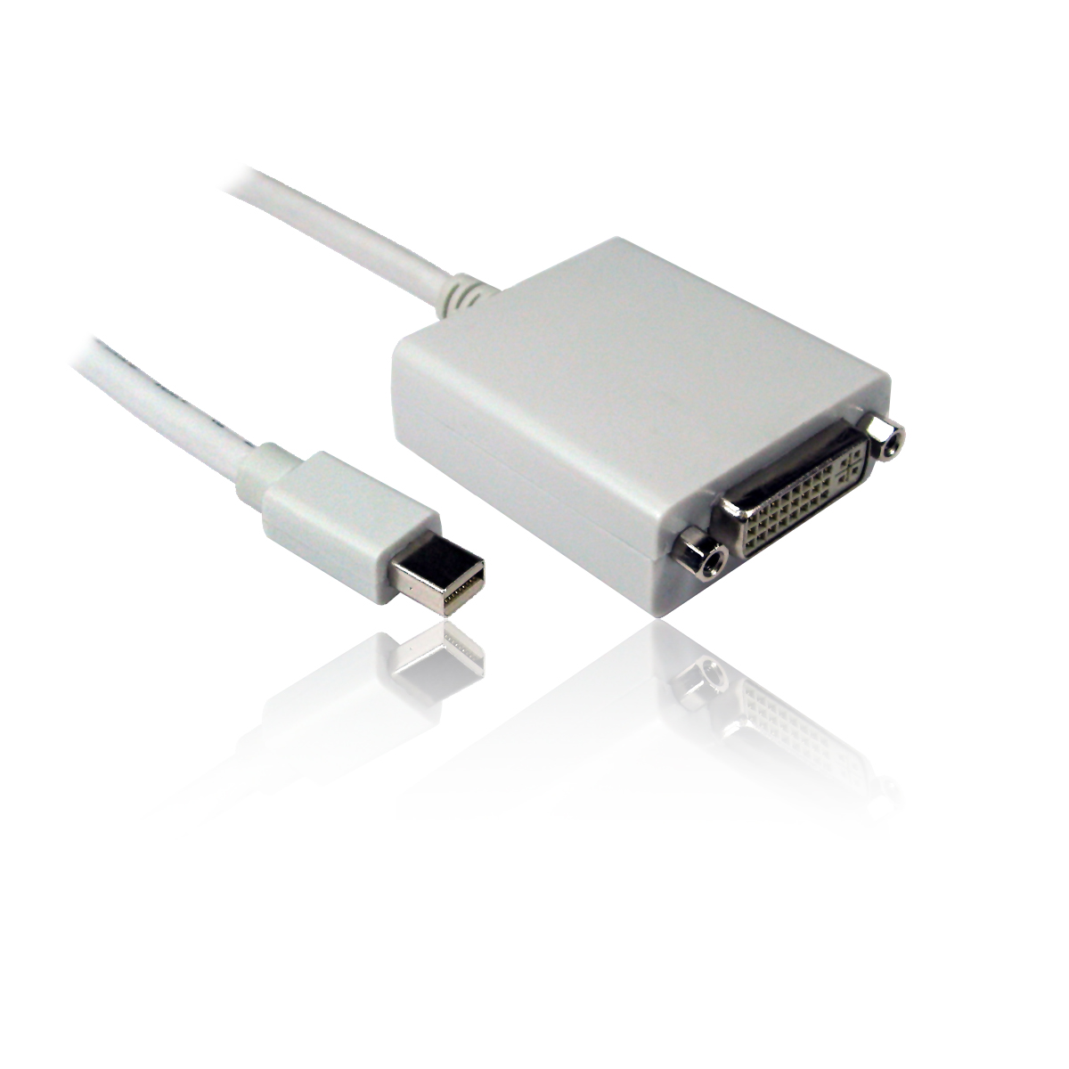 2m Mini Displayport Male To Dvi D Single Link Female