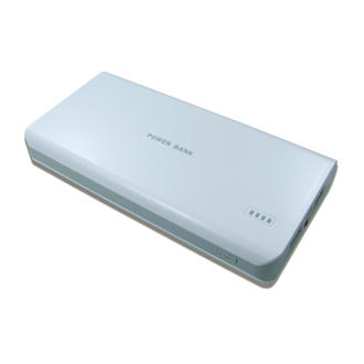 16,000 mAh 2 USB External Power Bank Charger for Mobile Phone