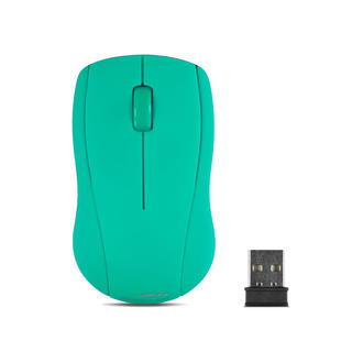 Speedlink Snappy 3 Button (inc Scroll Wheel)Wireless USB 1000dpi Mouse-Turquoise