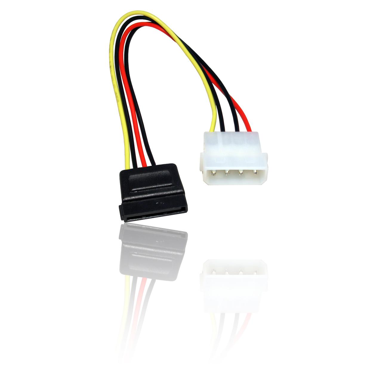 Sata Serial Ata Data Amp Power Hdd Hard Disk Drive Cable