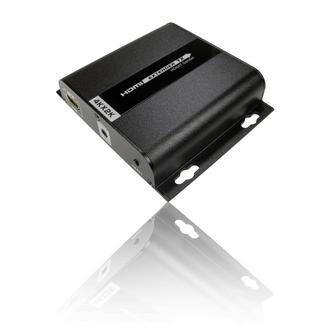 120m 4Kx2K HDbitT HDMI Signal Extender over 1 SINGLE Cat5e / 6 Cable - BLACK