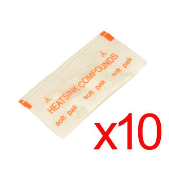 10 x Packs of Heatsink Professional Grade Heat Sink Thermal Paste Compund