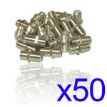 50 X F Type Connector Satellite Cable F-F Female Coupler Joiner Gender Changer