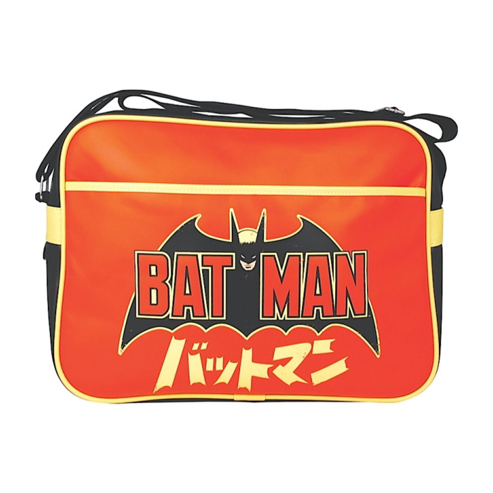 Batman Logo & Japanese Writing Shoulder Bag