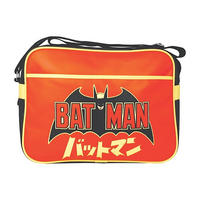 Batman Logo & Japanese Writing Shoulder Bag Thumbnail 1