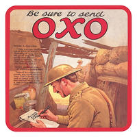 WW1 Be Sure To Send OXO Coaster