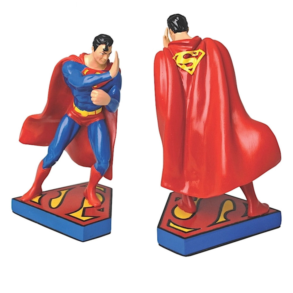 Pair of Superman Bookends