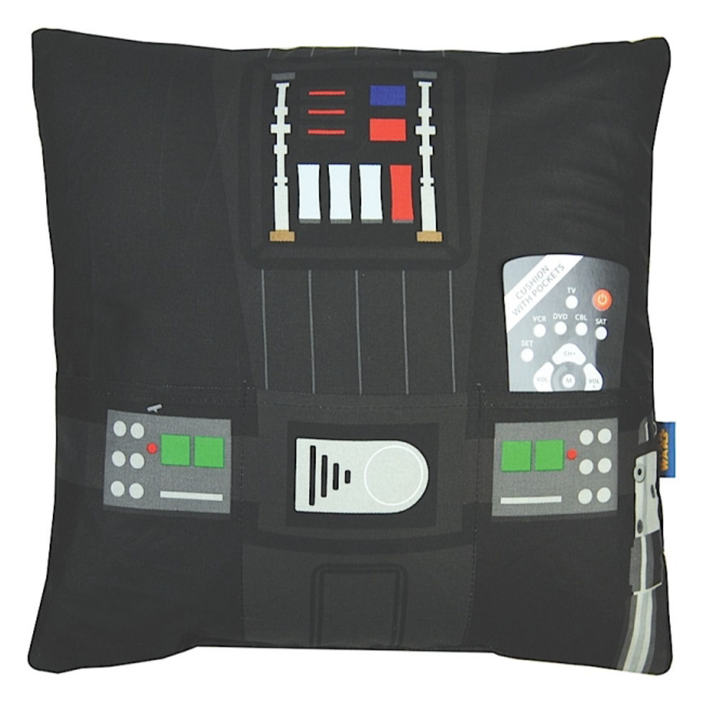 Star Wars Darth Vader Cushion With Pockets