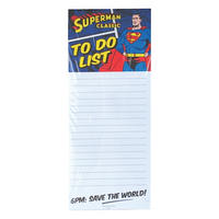 Superman 6pm: Save The World Magnetic Memo Pad Thumbnail 1