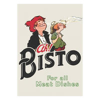 "Bisto ""For All Meat Dishes"" Fridge Magnet Thumbnail 1"