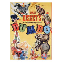 Dumbo Classic Film Poster Fridge Magnet Thumbnail 1