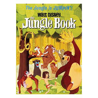 The Jungle Book Classic Film Poster Fridge Magnet Thumbnail 1