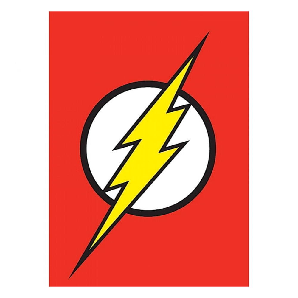 Flash Logo Fridge Magnet