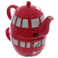 London Routemaster Bus Teapot & Cup Set Thumbnail 1