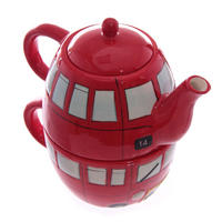 London Routemaster Bus Teapot & Cup Set Thumbnail 2