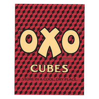 Oxo Cubes Logo Fridge Magnet