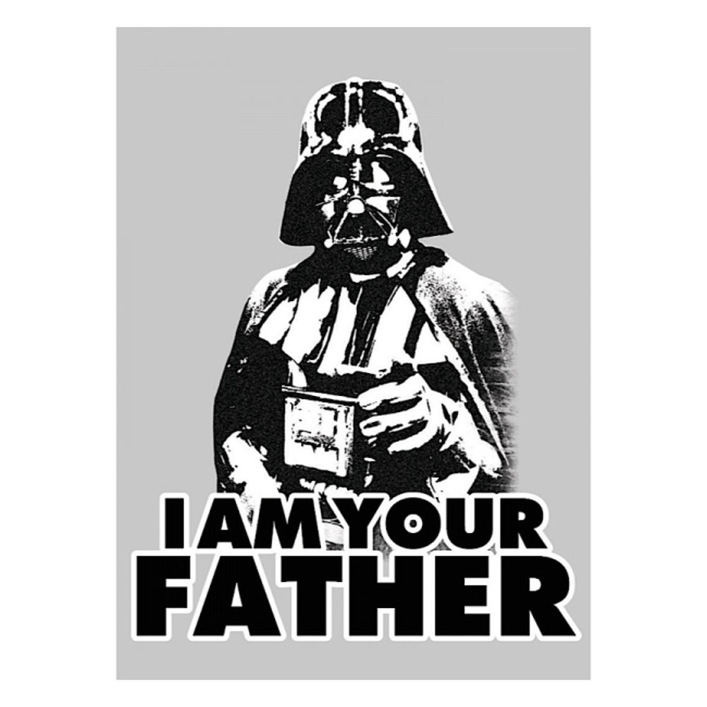 STAR WARS DARTH VADER I AM YOUR FATHER FRIDGE MAGNET FILM