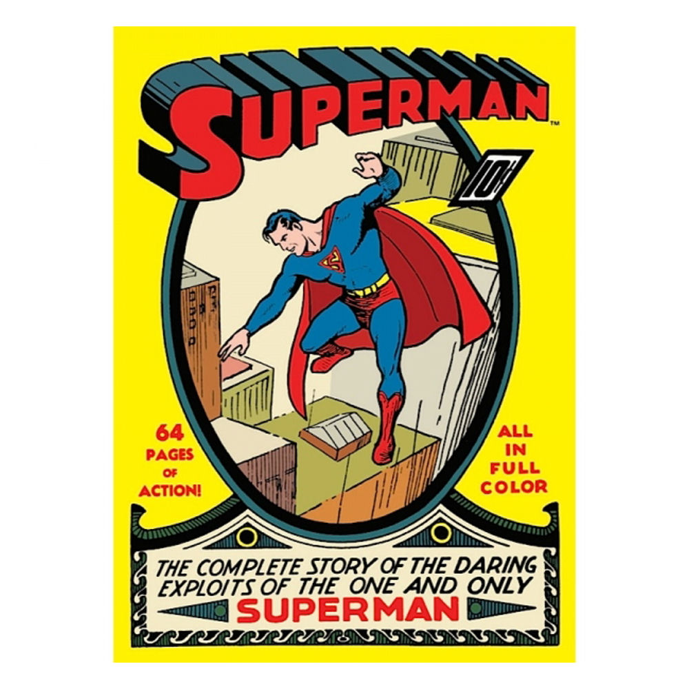 Superman No.1 Comic Book Fridge Magnet