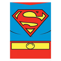 Superman Costume Fridge Magnet Thumbnail 1