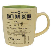 Ration Book Stoneware Mug