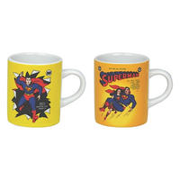 Superman & Lois Lane Set Of 2 Mini Mugs Thumbnail 2