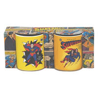 Superman & Lois Lane Set Of 2 Mini Mugs Thumbnail 1
