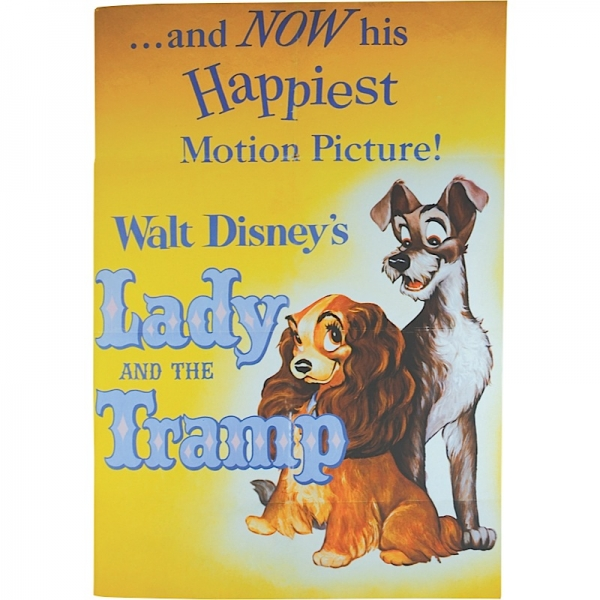 Lady And The Tramp Classic Film Poster Paperback Notebook
