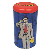 Superman/Clark Kent Set Of 3 Stacking Tins Thumbnail 2