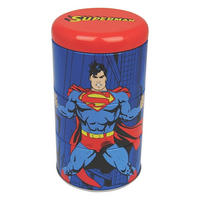 Superman/Clark Kent Set Of 3 Stacking Tins Thumbnail 1
