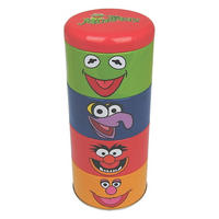 The Muppets Set Of 4 Stacking Tins