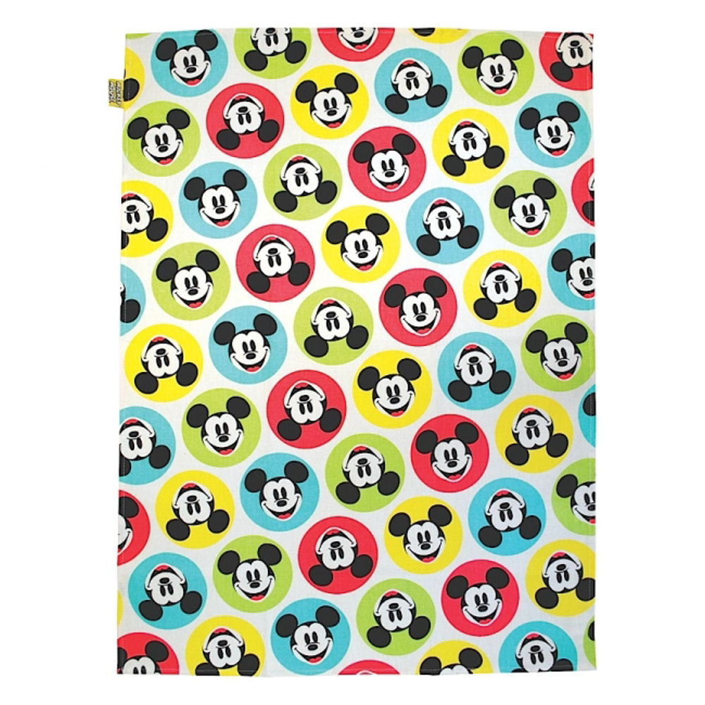 Mickey Mouse Spotty Tea Towel