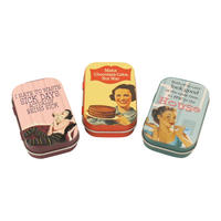Housewife Humour Set Of 3 Pill Tins