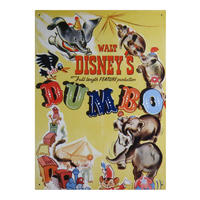 Dumbo Disney Classic Film Poster Large Steel Sign Thumbnail 1