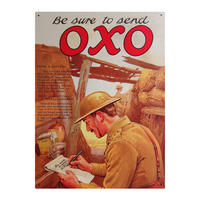 Your Country Oxo Be Sure Large Steel Sign