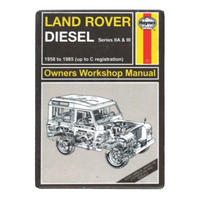 Haynes Manual Land Rover Fridge Magnet