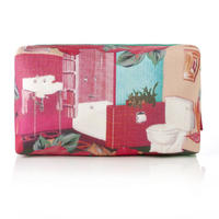 "Bev Ridge & Friends ""All The Gear No Idea"" Fabric Make Up Bag Thumbnail 2"