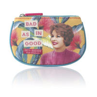 "Bev Ridge & Friends ""Bad As In Good"" Fabric Coin Purse Thumbnail 1"