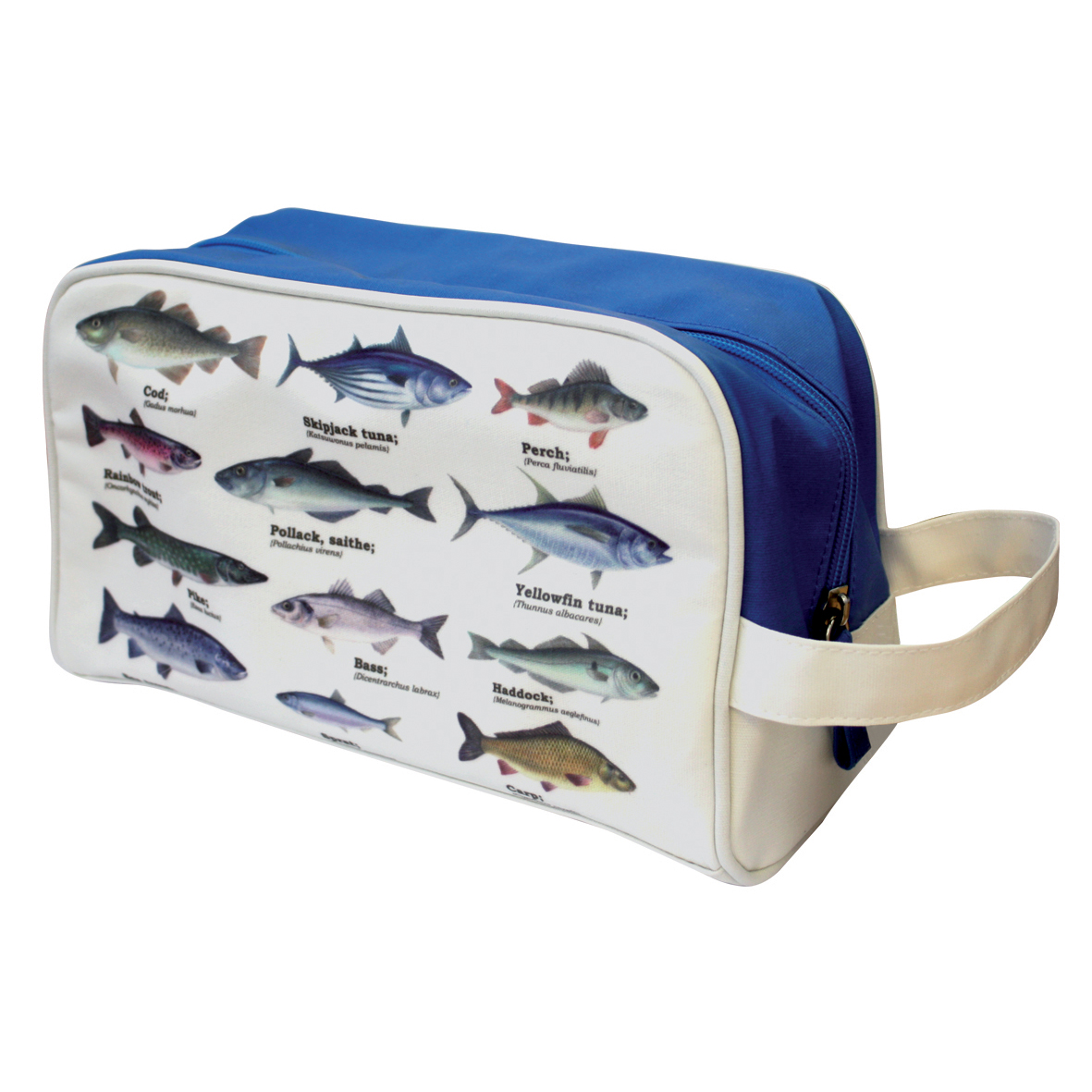 Ecologie Fish Species Wash Bag