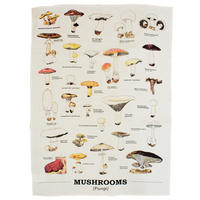 Ecologie Mushrooms Tea Towel