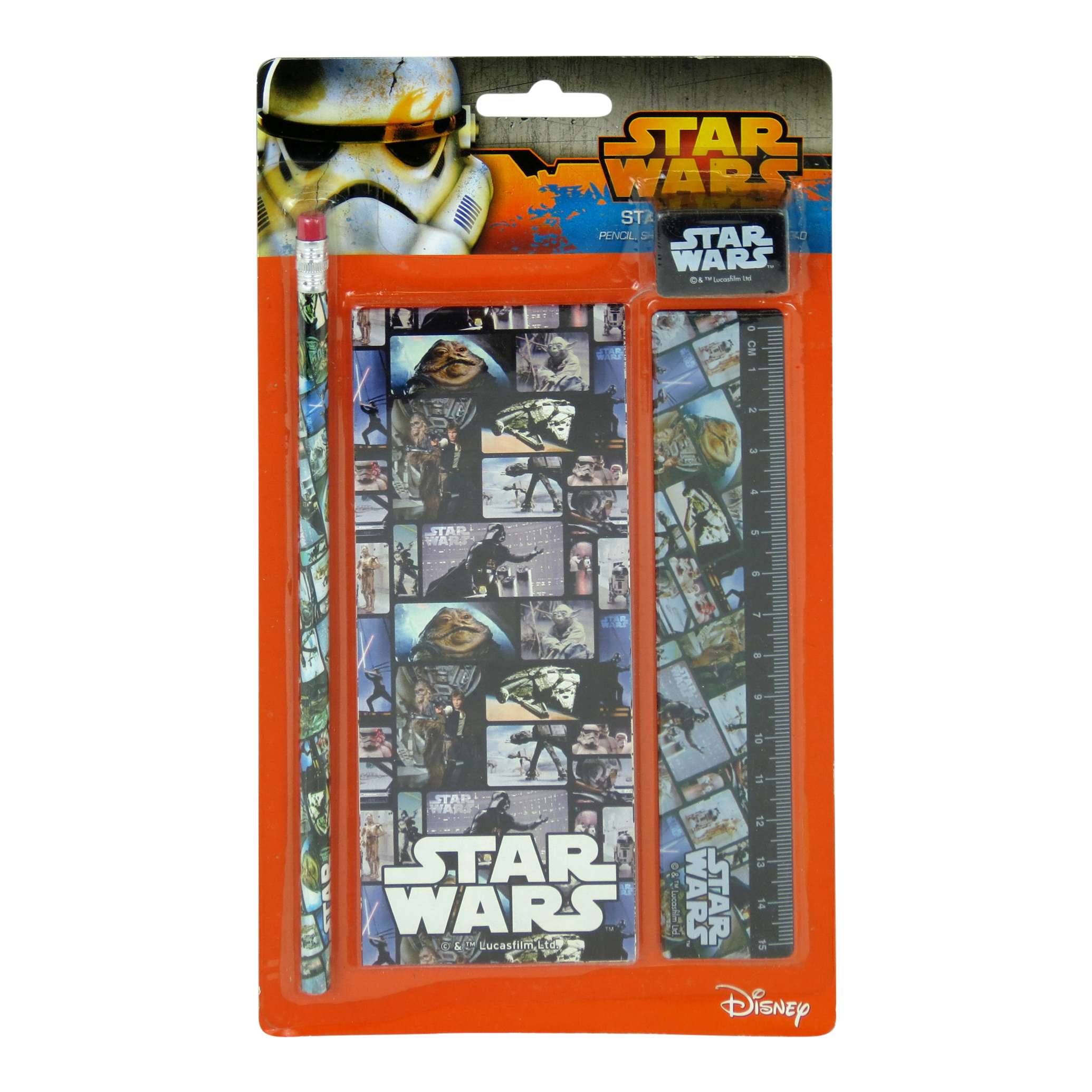 Star Wars Film Cell Blocks Stationery Set