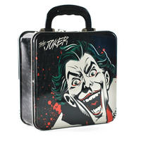 The Joker Embossed Square Tin Tote