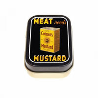 Colman's Meat Needs Mustard Keepsake / Pill Tin