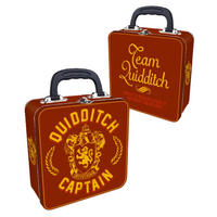 Harry Potter Gryffindor Quidditch Captain Square Tin Tote