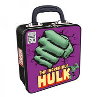 Hulk Fist Embossed Square Tin Tote