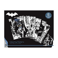 6 Batman Colour & Frame Posters Thumbnail 1