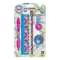 DC Comics Girl Power Stationery Set