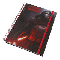 Star Wars Episode 7 Dark Kylo Ren A5 Hardback Notebook