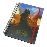 Star Wars Episode 7 Kylo Ren Lenticular A5 Hardback Notebook