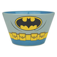 Set of 2 Ceramic Bowls - Batman & Superman Costume Thumbnail 4